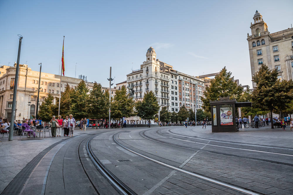 Zonas de copas en Zaragoza